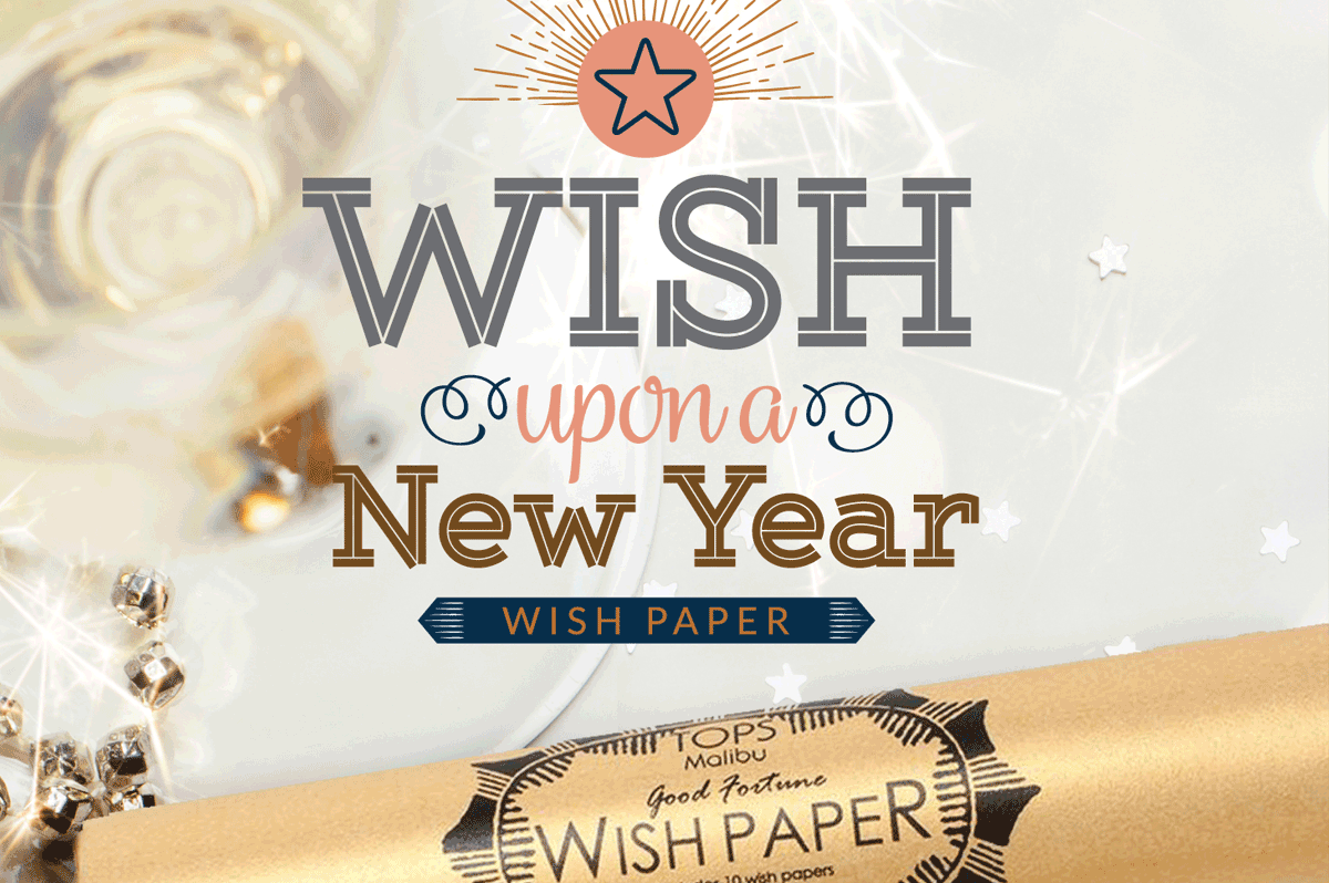 Wishing for A Happy New Year - TINSELBOX