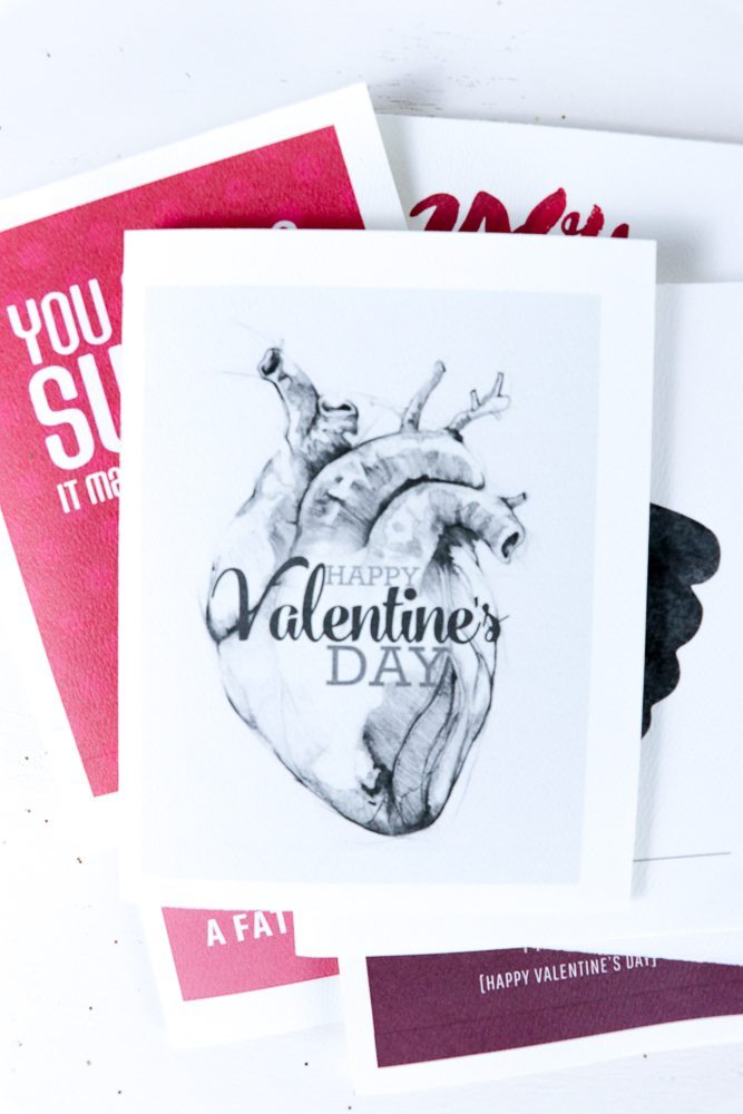 HOw fun is this Realistic Heart? My heart burns for YOU! 8 Funny Valentines Ideas you will LOVE with Free Printables