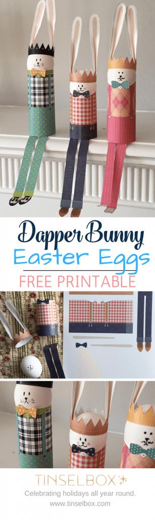 No dye easter egg printables