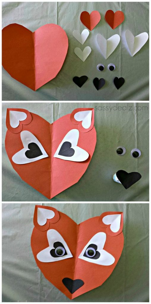 Fox Valentine Card Idea