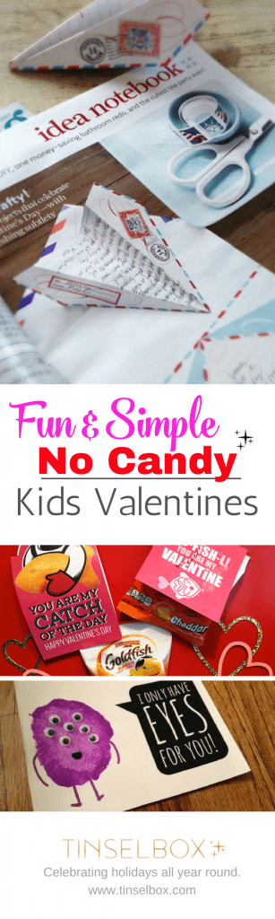 Valentine Card Ideas for Kids Without Candy