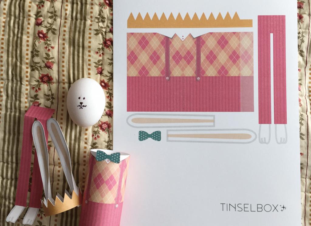 No Dye Easter Egg Printable