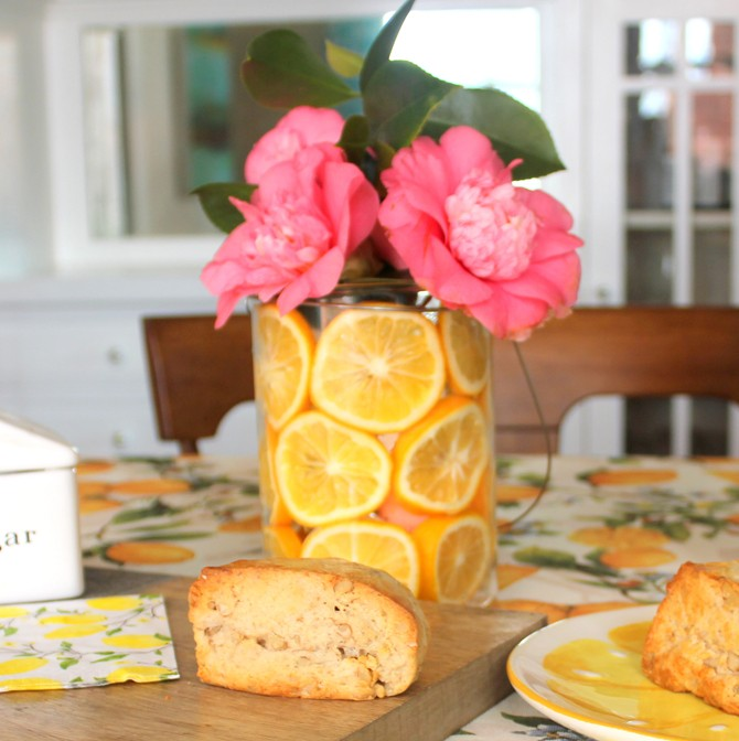 Lemon Party Centerpiece