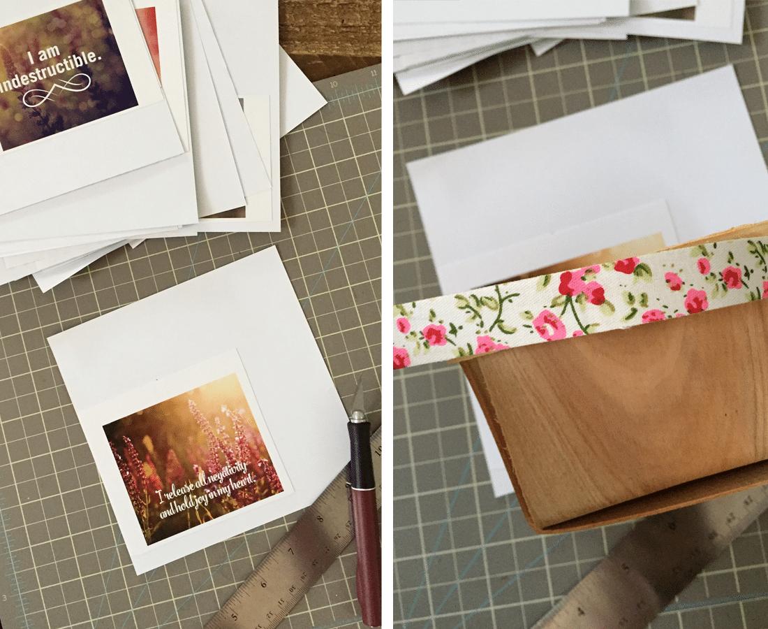 Printable affirmation cards to pamper your self esteem