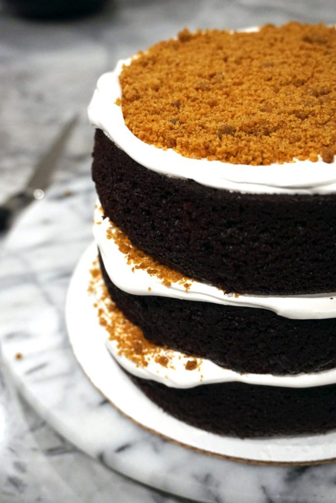Layers of Smore Cake recipe