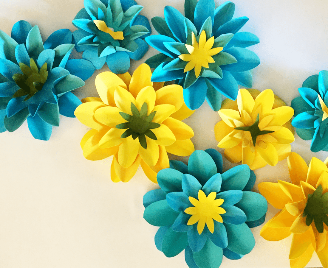 April Showers Bring Mays Paper Flowers Tinselbox