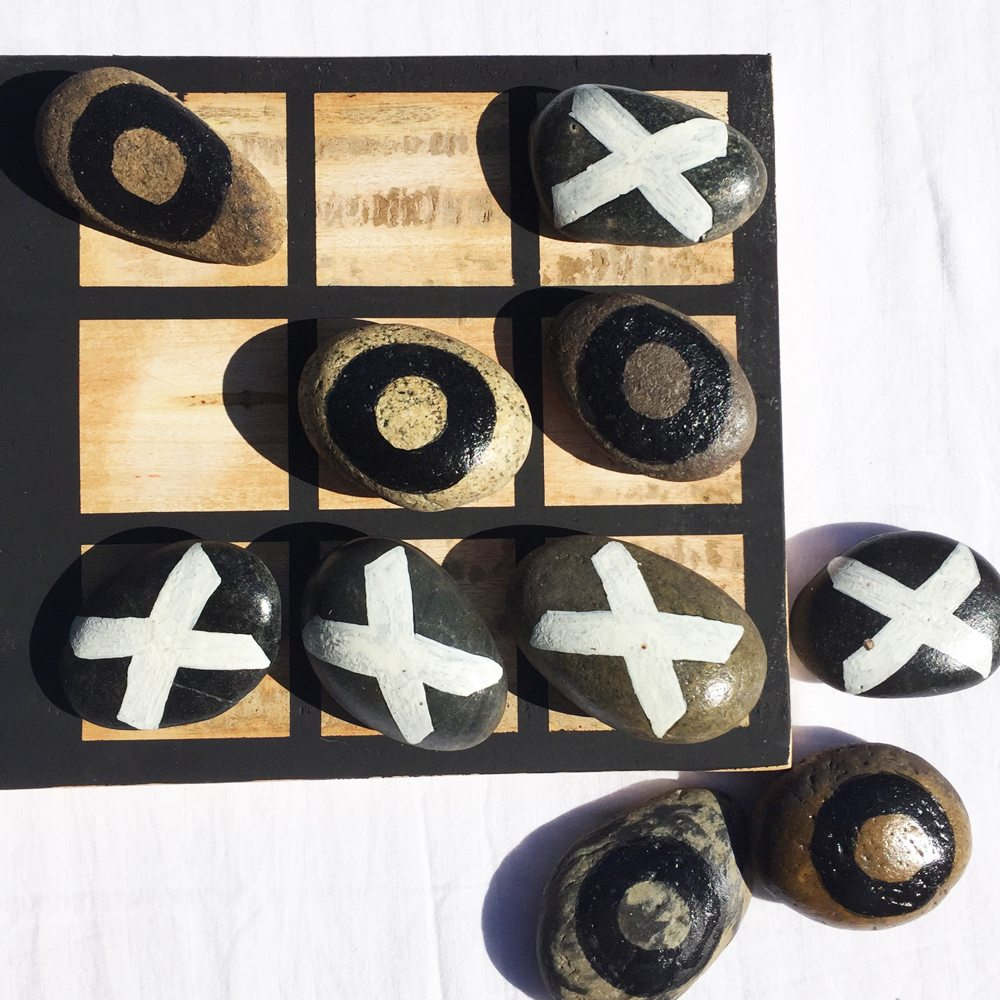tic tac toe outdoor game