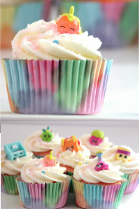 Shopkins Easy DIY cupcakes