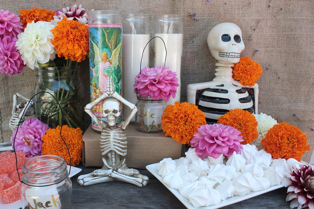 Simple Day of the Dead Altar