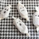Salted Caramel Ghosts for Halloween | Easy and Fun