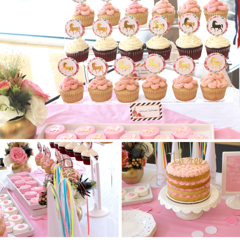 Elegant And Darling Unicorn Party Design Supplies