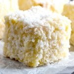 Egg Nog Lamingtons