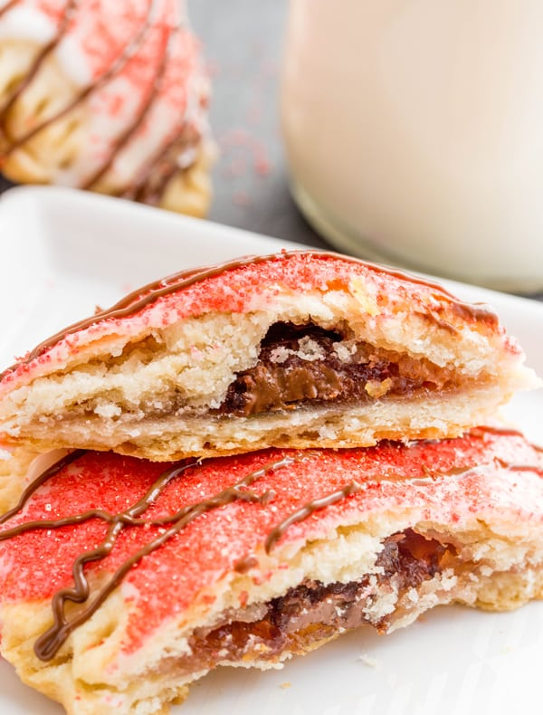 Chocolate Cherry Pop-Tarts