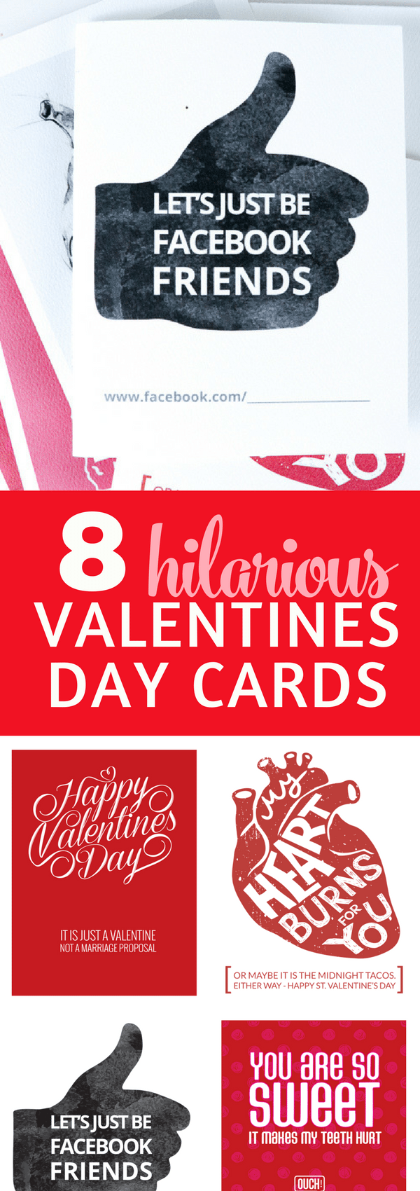 8 Funny Valentines Ideas you will LOVE with Free Printables. Give humor as your Valentines gift. Who doesn't love a good laugh? #valentinesideas #valentinescards #valentinesdaydecor