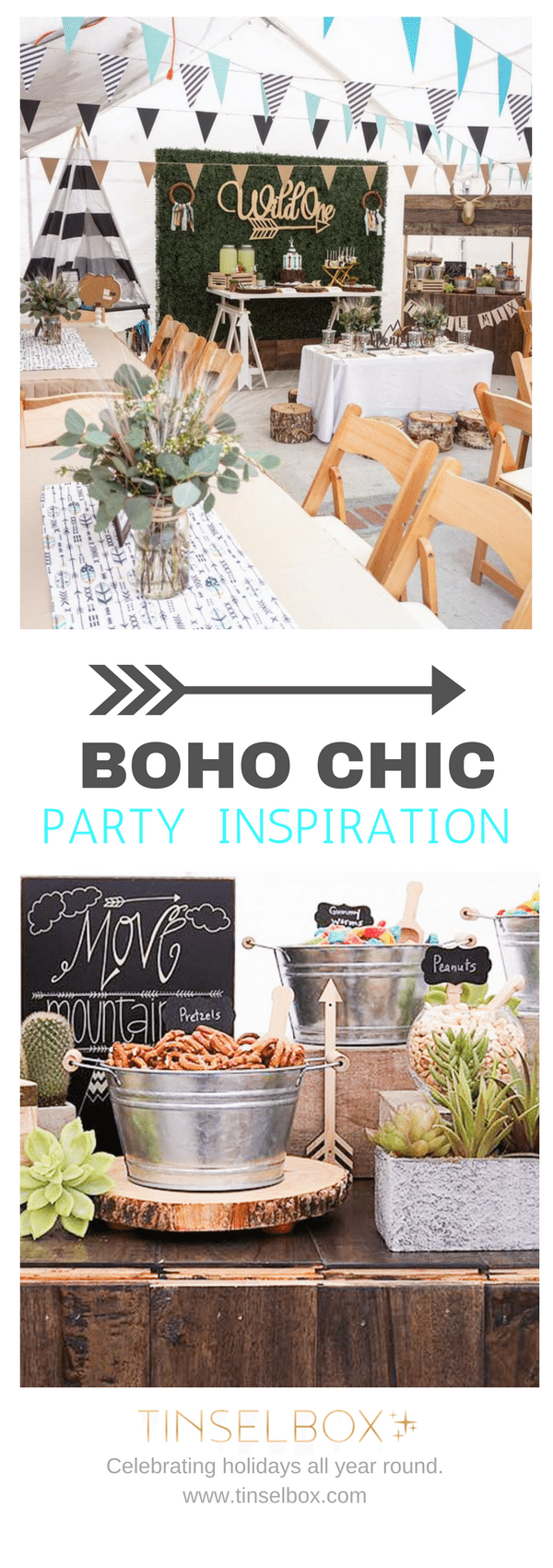 Boho Chic Party - Wild One Birthday inspiration