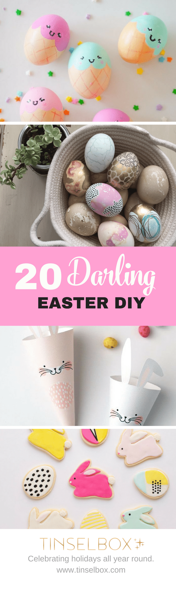 20 Darling Easter DIY - the best of Pinterest