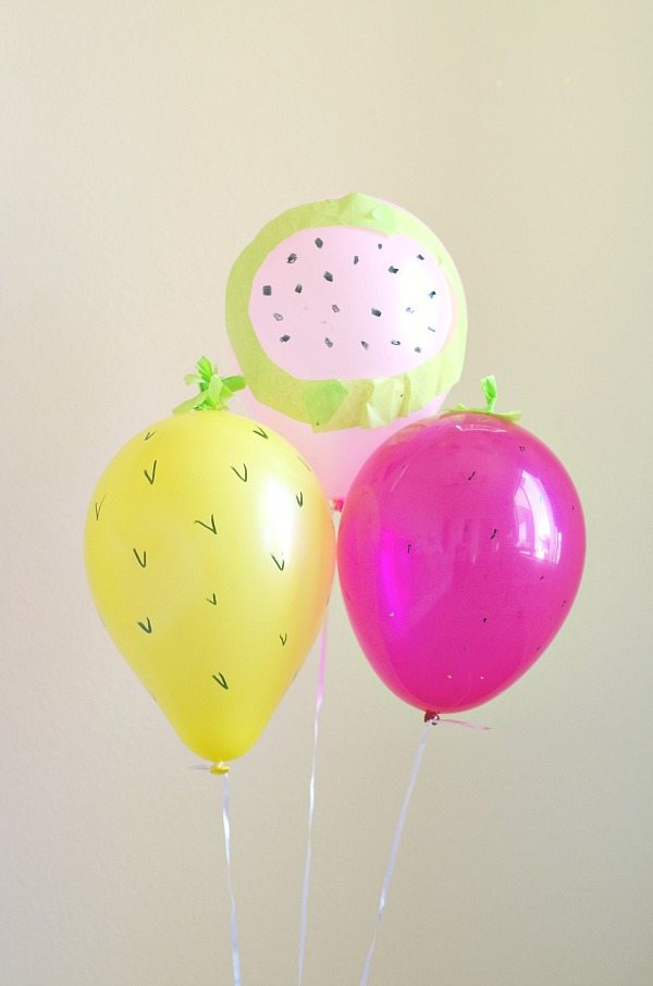 Fruit Balloon DIY Val Event Gal