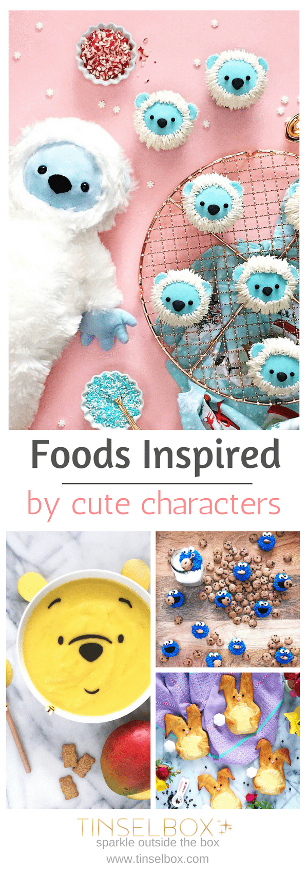 Darling foods inspired by cute charecters