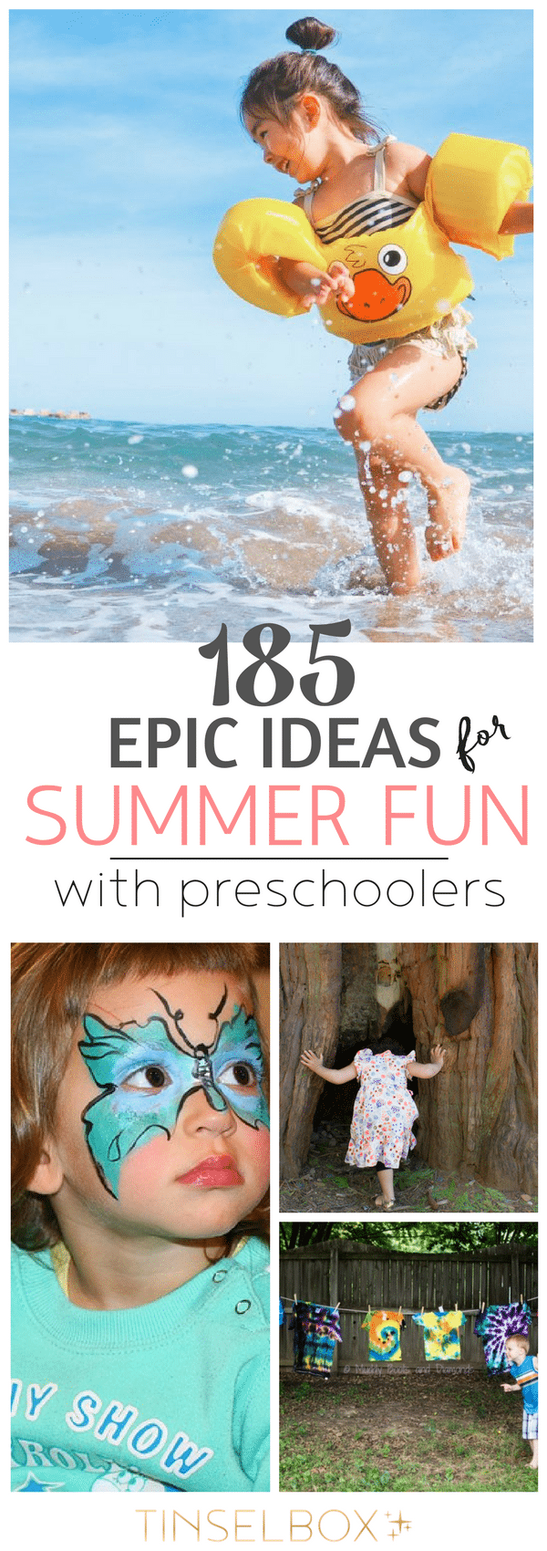 185 Epic Ideas for Summer Fun with Preschoolers