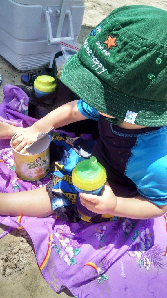 Summer ideas for a beach day with a toddler