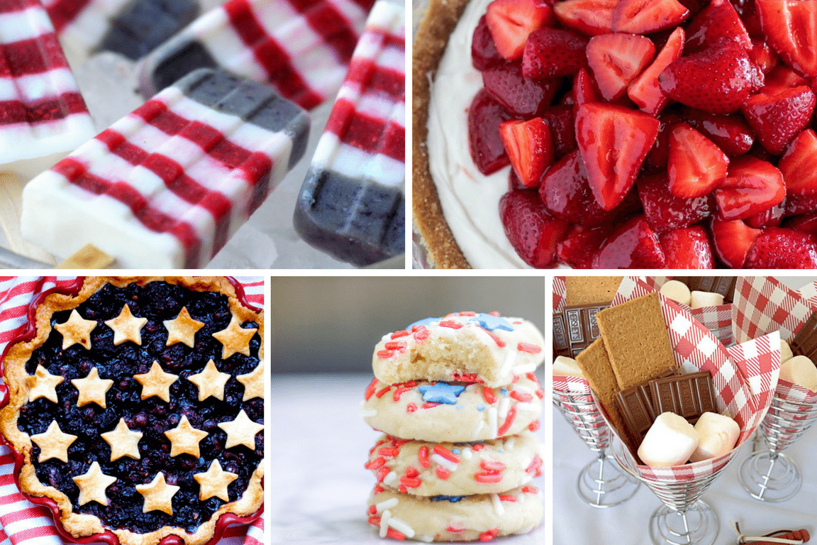Easy Elegant 4th Of July Desserts Tinselbox