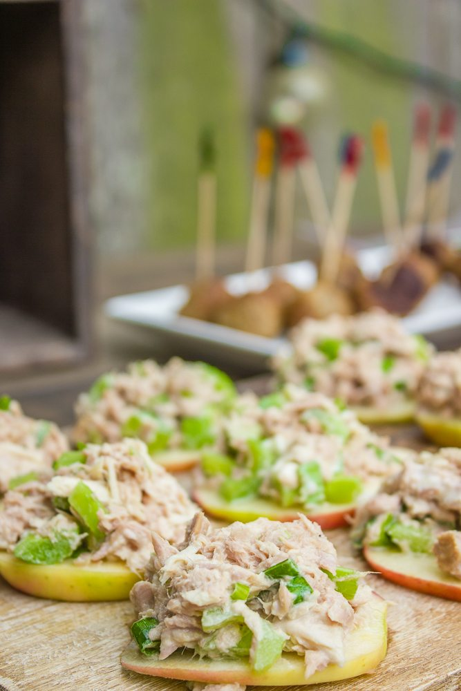 Apple Tuna Salad Sliders