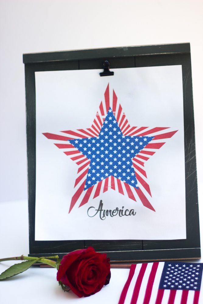 Free Printable 4th of July Patriotic Designs