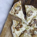 Grilled Asiago Mushroom Herb Pizza