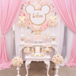 Pink Minnie Mouse Disney Birthday Party