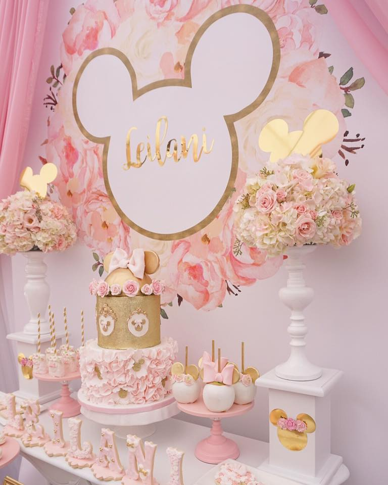 pink minnie mouse disney birthday party tinselbox