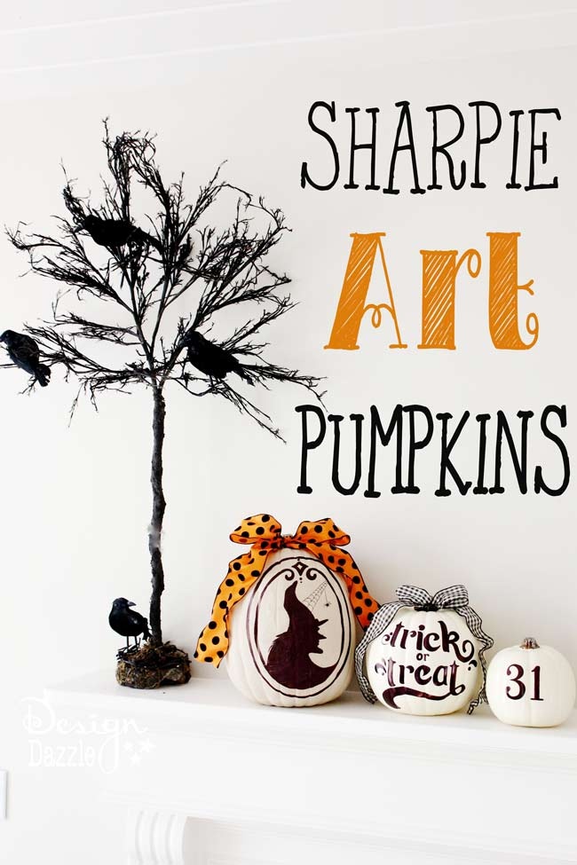 Fall Pumpkin Art Tinselbox