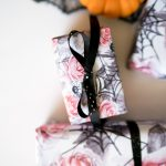 Adorable Halloween Birthday Gift Wrap {Free Printable}