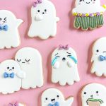 Darling Halloween Ghost Sugar Cookies