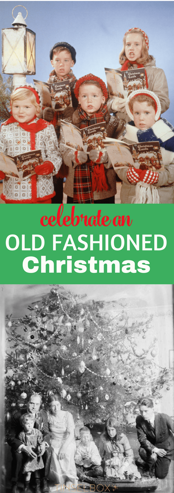 If you want to celebrate a #vintage old fashioned #Christmas, it will create memories that will last a lifetime. See what we mean about these old #holiday #traditions.