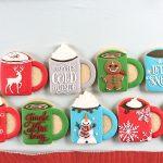 Christmas Mug Sugar Cookies Too Adorable to Eat