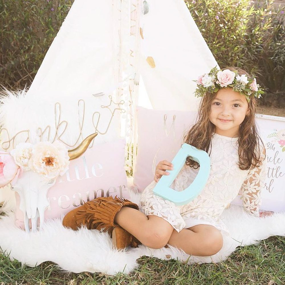Boho Style Birthday Party Ideas