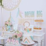 Pretty in Pink Bohemian Style Birthday Party