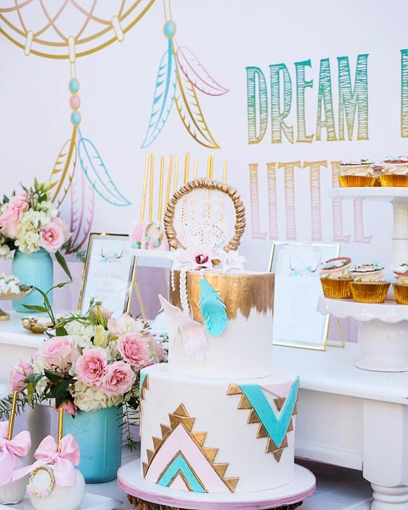 Bohemian Style Birthday Party