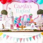 Adorable Princess Poppy's Troll Birthday Party Inspiration