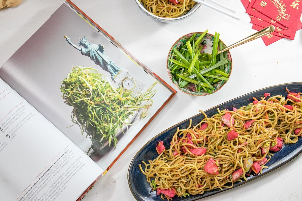 Char siu chinese chicken chow mein recipe tinselbox char siu chinese chicken chow mein recipe forumfinder Image collections