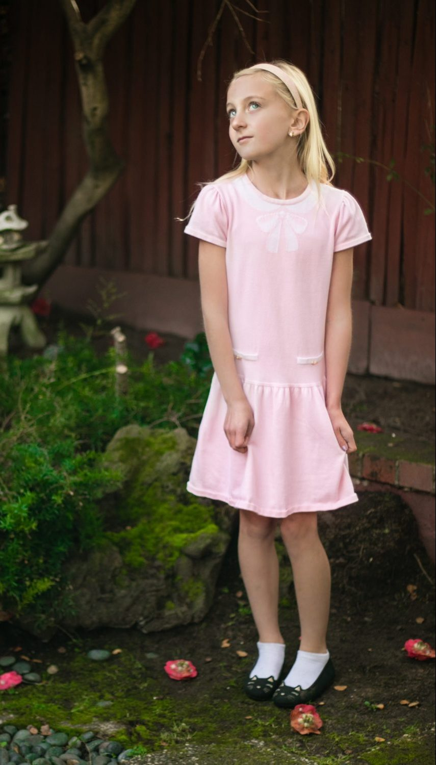 You will love these afforable, Organic Cotton Valentines Day Dresses - TINSELBOX #organiccotton #kidsfashion #valentines