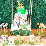 Wild Jungle Safari Birthday Party Theme