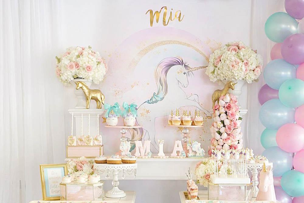 Darling Pinterest Unicorn Birthday Party