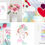 Unicorn Party Free Printables | Best of Pinterest