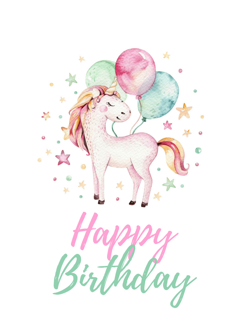 It is an image of Rare Free Printable Unicorn Pictures