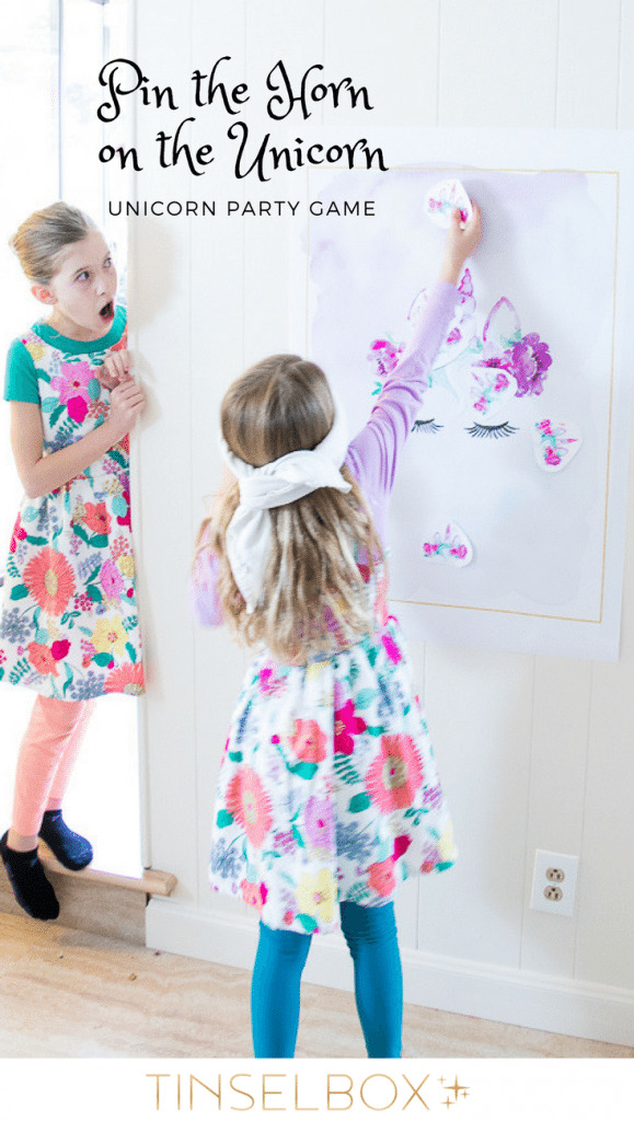 Fun Unicorn Themed Party Games - TINSELBOX