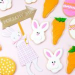 Fuzzy Bunny Decorated Easter Sugar Cookies {Darling!}
