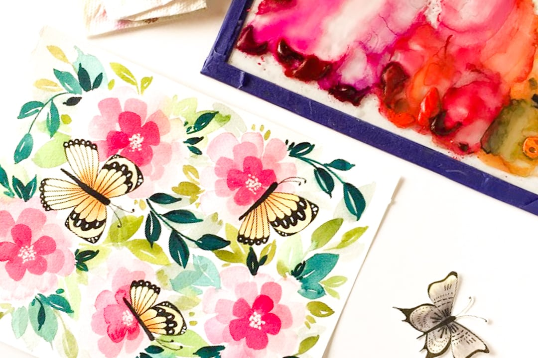 Butterfly Garden Free Printable