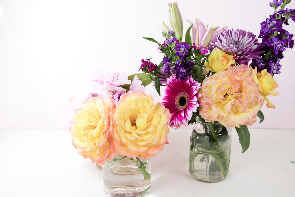 How To Make A Diy Flower Arrangement Special Tinselbox