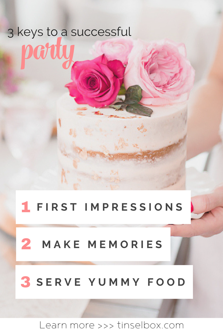 How to Plan a Party: 3 Keys to A Successful Party